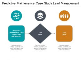 Predictive Maintenance Case Study Lead Management Ppt Powerpoint Presentation Summary Graphic Tips Cpb