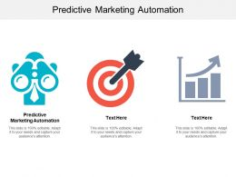Predictive Marketing Automation Ppt Powerpoint Presentation File Influencers Cpb