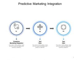 Predictive Marketing Integration Ppt Powerpoint Presentation Inspiration Cpb