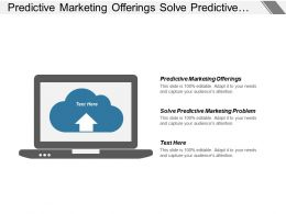 Predictive Marketing Offerings Solve Predictive Marketing Problem Project Stakeholder Cpb