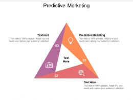 Predictive Marketing Ppt Powerpoint Presentation Infographics Example Topics Cpb