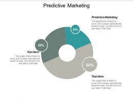 Predictive Marketing Ppt Powerpoint Presentation Inspiration Picture Cpb