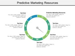 Predictive Marketing Resources Ppt Powerpoint Presentation Pictures Themes Cpb