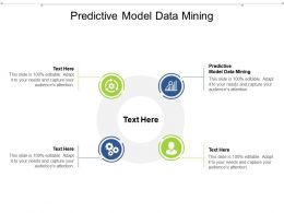 Predictive Model Data Mining Ppt Powerpoint Presentation Icon Structure Cpb