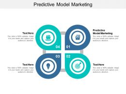 Predictive Model Marketing Ppt Powerpoint Presentation Infographics File Cpb
