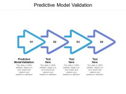 Predictive Model Validation Ppt Powerpoint Presentation Professional Examples Cpb