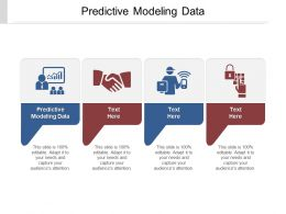 Predictive Modeling Data Ppt Powerpoint Presentation Icon Themes Cpb