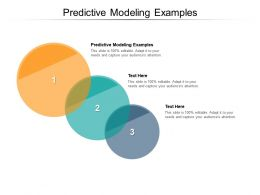 Predictive Modeling Examples Ppt Powerpoint Presentation Ideas Images Cpb