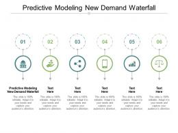 Predictive Modeling New Demand Waterfall Ppt Powerpoint Presentation Infographics Graphics Cpb