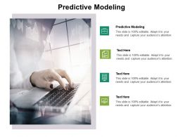 Predictive Modeling Ppt Powerpoint Presentation Ideas Backgrounds Cpb