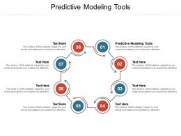 Predictive Modeling Tools Ppt Powerpoint Presentation File Formats Cpb