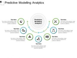 Predictive Modelling Analytics Ppt Powerpoint Presentation Outline Example Cpb
