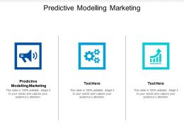 Predictive Modelling Marketing Ppt Powerpoint Presentation File Example Cpb