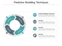 Predictive Modelling Techniques Ppt Powerpoint Presentation Outline Graphics Cpb