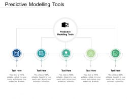Predictive Modelling Tools Ppt Powerpoint Presentation Outline Influencers Cpb