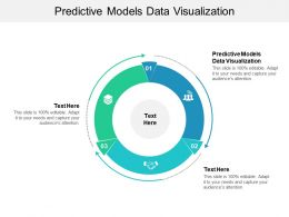 Predictive Models Data Visualization Ppt Powerpoint Presentation Influencers Cpb