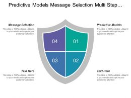 Predictive Models Message Selection Multi Step Campaigns Raw Data