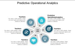 Predictive Operational Analytics Ppt Powerpoint Presentation Icon Guide Cpb