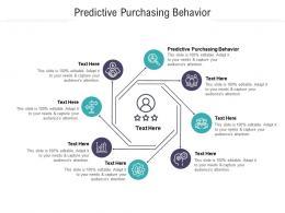 Predictive Purchasing Behavior Ppt Powerpoint Presentation File Gallery Cpb