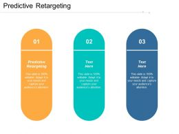 Predictive Retargeting Ppt Powerpoint Presentation Portfolio Example File Cpb