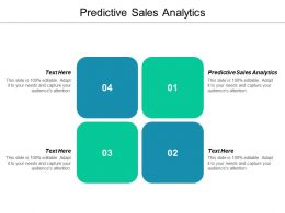 Predictive Sales Analytics Ppt Powerpoint Presentation Icon Ideas Cpb