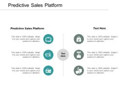 Predictive Sales Platform Ppt Powerpoint Presentation File Visual Aids Cpb