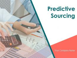 Predictive Sourcing Powerpoint Presentation Slides