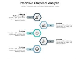 Predictive Statistical Analysis Ppt Powerpoint Presentation File Good Cpb