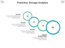 Predictive Storage Analytics Ppt Powerpoint Presentation Infographic Template Images Cpb