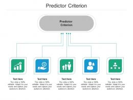 Predictor Criterion Ppt Powerpoint Presentation Outline Elements Cpb