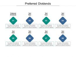 Preferred Dividends Ppt Powerpoint Presentation Summary Download Cpb