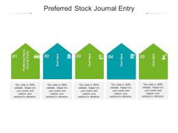 Preferred Stock Journal Entry Ppt Powerpoint Presentation File Background Cpb
