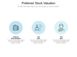 Preferred Stock Valuation Ppt Powerpoint Presentation Infographic Template Slides Cpb