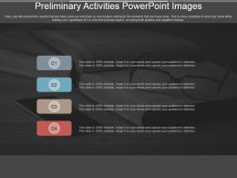 Preliminary Activities Powerpoint Images