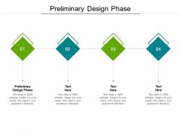 Preliminary Design Phase Ppt Powerpoint Presentation Ideas Introduction Cpb