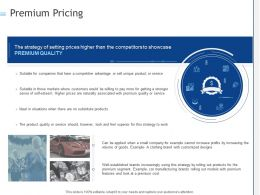 Premium Pricing Ppt Powerpoint Presentation Show Guide