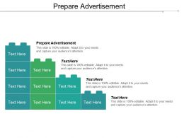 Prepare Advertisement Ppt Powerpoint Presentation Pictures Background Cpb