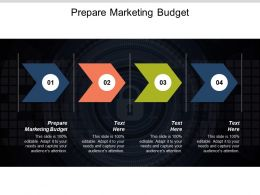Prepare Marketing Budget Ppt Powerpoint Presentation Model Clipart Images Cpb