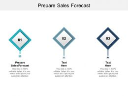 Prepare Sales Forecast Ppt Powerpoint Presentation Pictures Backgrounds Cpb