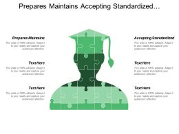 Prepares Maintains Accepting Standardized Personalized Ownership Approach Protected
