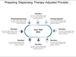 Preparing Dispensing Therapy Adjusted Provider Receive Decision Report