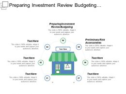 Preparing Investment Review Budgeting Preliminary Risk Assessment Security Categorization