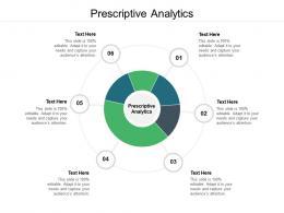 Prescriptive Analytics Ppt Powerpoint Presentation Infographic Template Topics Cpb