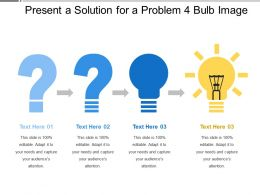 Present A Solution For A Problem 4 Bulb Image