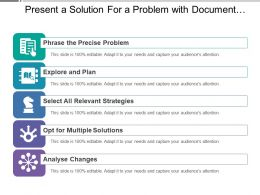 present_a_solution_for_a_problem_with_document_and_chess_horse_image_Slide01