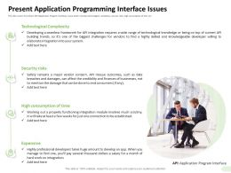 Present Application Programming Interface Issues Established Ppt Design Ideas