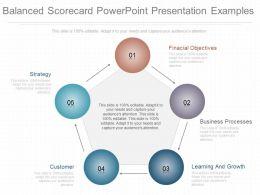 Present Balanced Scorecard Powerpoint Presentation Examples