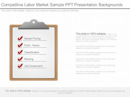 Present Competitive Labor Market Sample Ppt Presentation Backgrounds