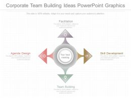 Present Corporate Team Building Ideas Powerpoint Graphics