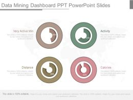 Present Data Mining Dashboard Ppt Powerpoint Slides